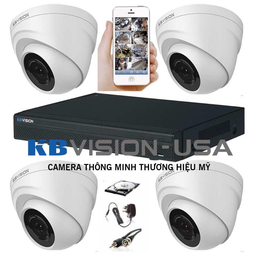 lắp camera quan sát quận 9 trọn bộ bao gồm lắp đặt thi công camera quan sát  quận 9 giá rẻ thương hiệu camera kbvision usa